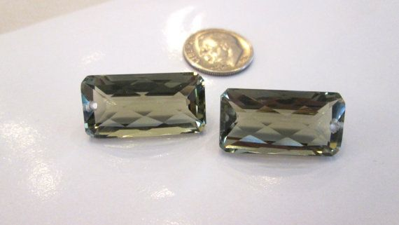 Sale  Luxe Green Amethyst Gemstones  Matching by BrandonsBeadz, $34.00