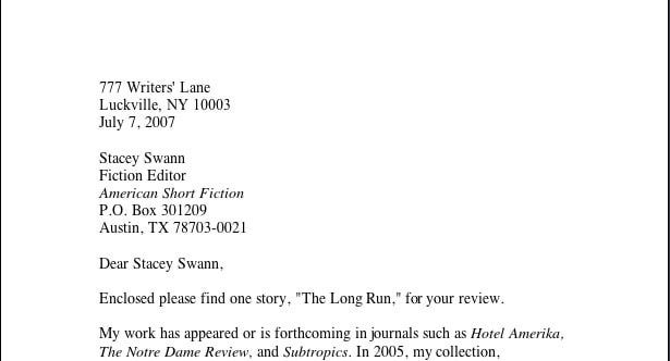 Cover Letter For Fiction Submission from i.pinimg.com