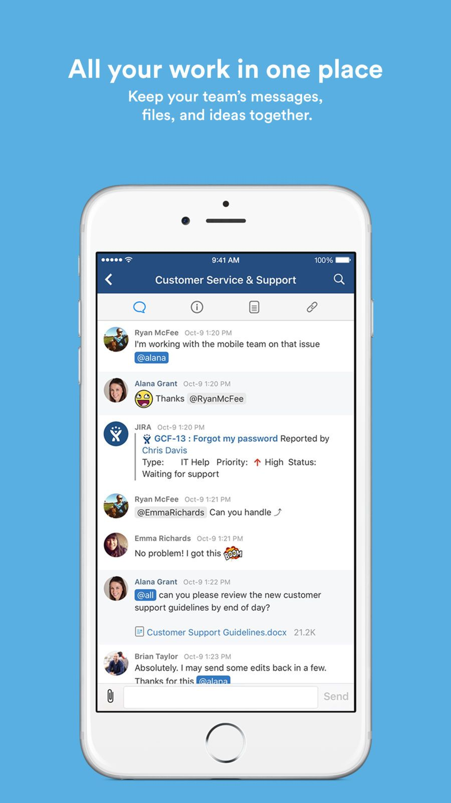 HipChat ¨C Group chat for teams ProductivityBusiness