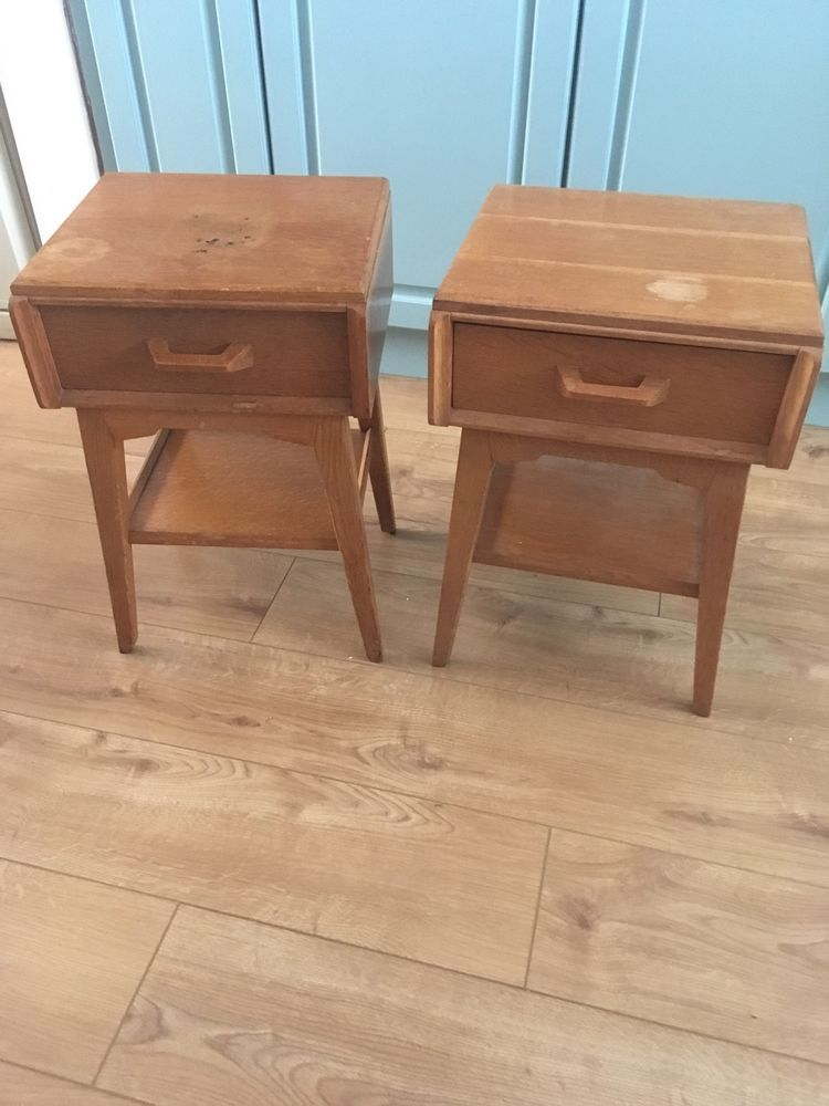 One G Plan Brandon Range Bedside Table (left In Pic) Retro/ Vintage/ Mid  Century In Home, Furniture U0026 DIY, Furniture, Bedside Tables U0026 Cabinets