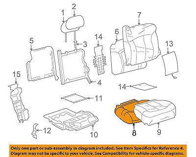 gm oem airbag air bag srs-passenger seat occupancy sensor / mat 19168633