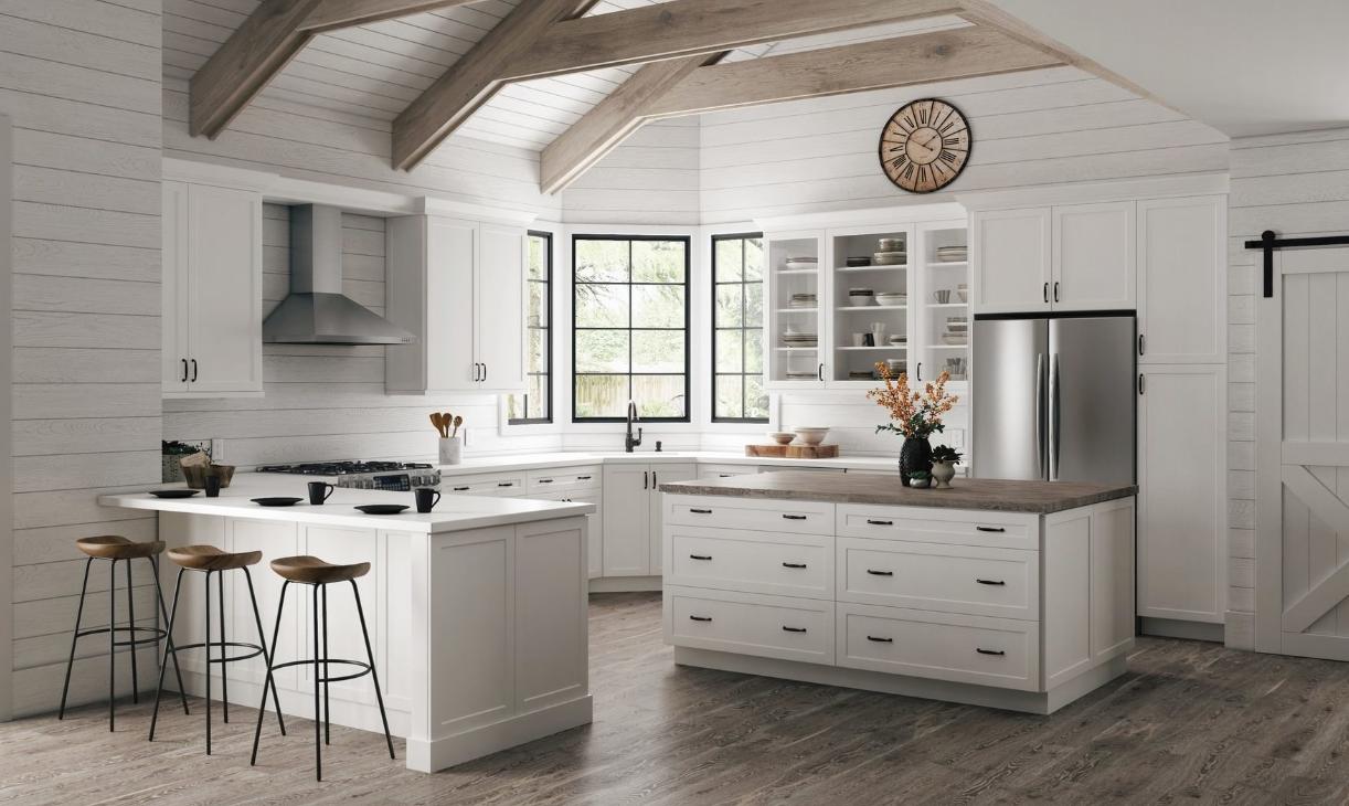 Pin By Nurseda On Kitchen Reno Refacing Kitchen Cabinets New Kitchen Cabinets White Shaker Kitchen