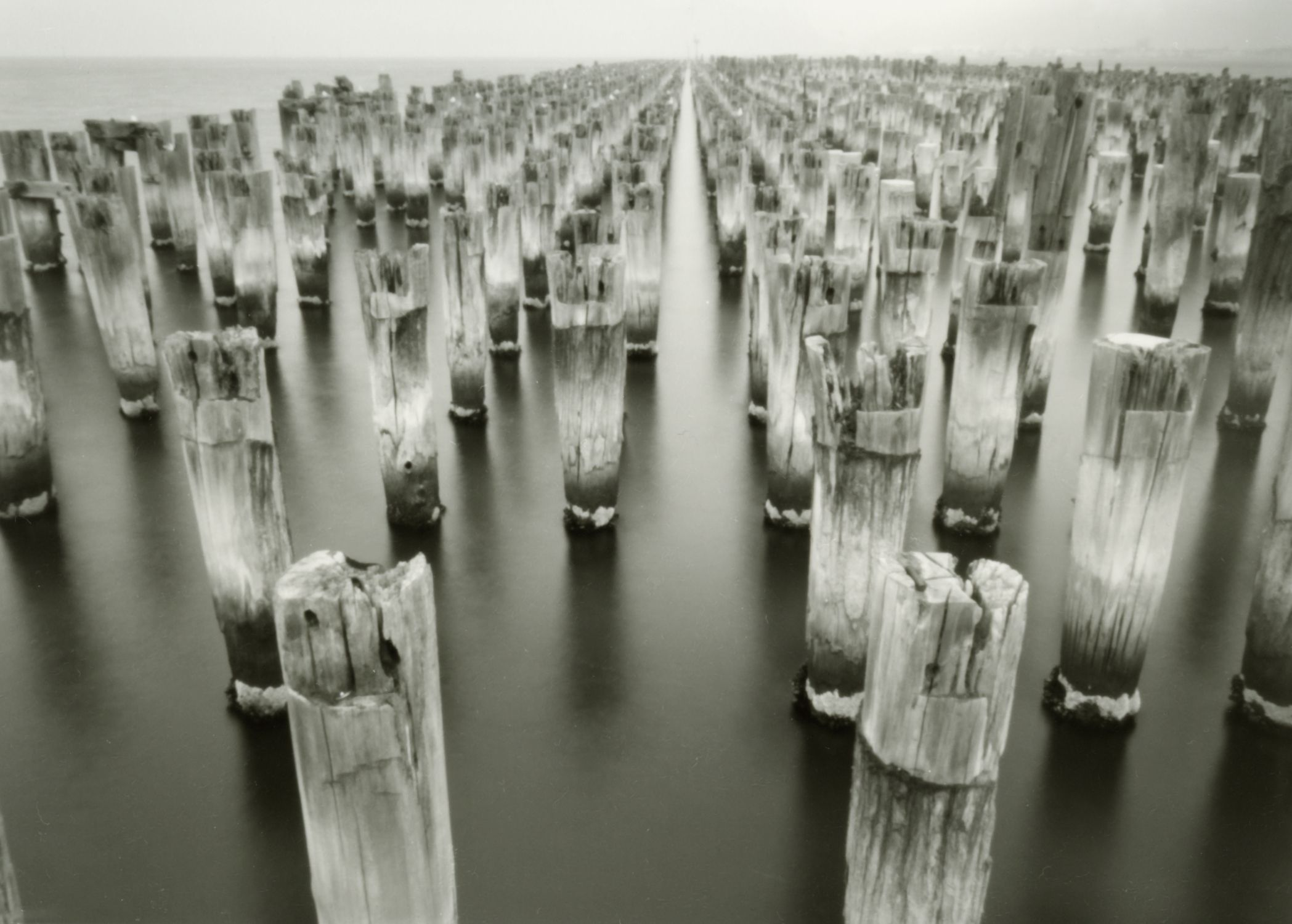 Silver Gelatin Photograph From Pinhole Negative