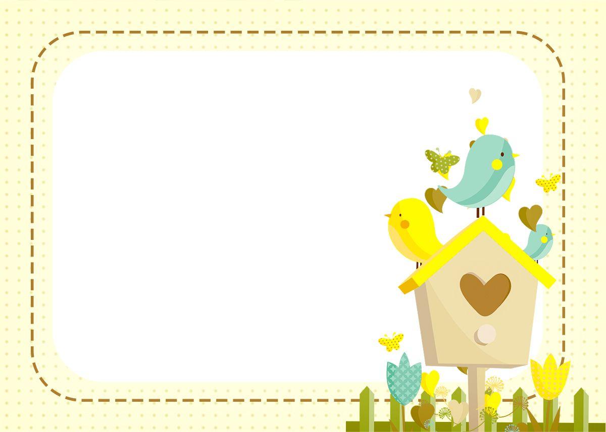Uau! Veja o que temos para Convite, Moldura e Cartão 2 Jardim Encantado Amarelo Provençal