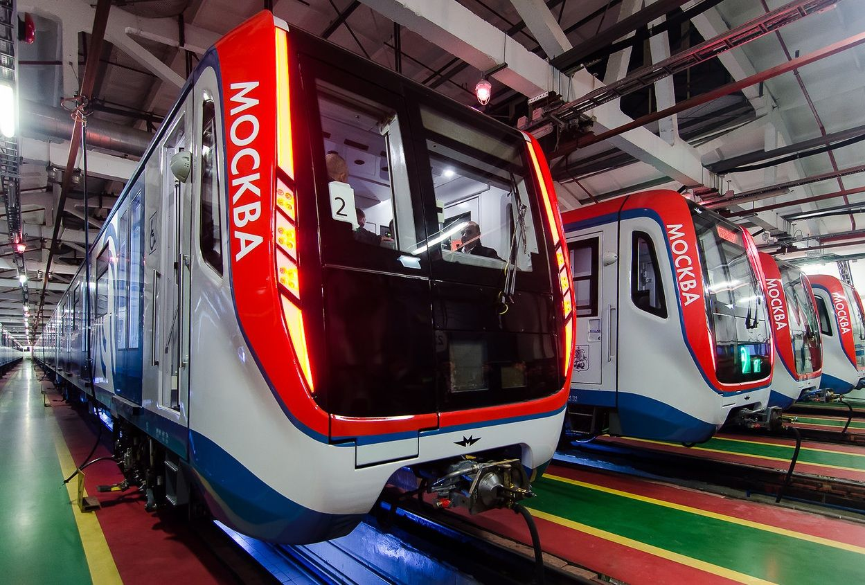 The Importance Of Top Notch Modern Transportation Infrastructure Continues To Be Realized In Azerbaijan As The Metro Syst Underground Tube Train Metro System