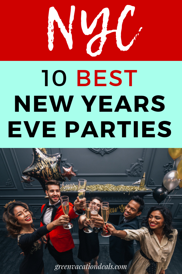 10 Best New York City New Years Eve Parties | New york new ...