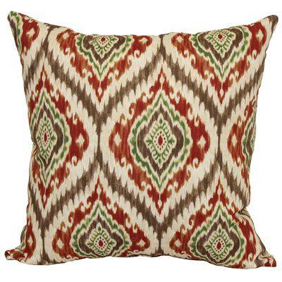 Garden Treasures Warm Taj Sequoia Outdoor Throw Pillow Lowe's Impressive Lowes Outdoor Decorative Pillows