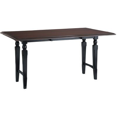 Rubbed Black Drop Leaf Dining Table Dining Table Dining Table