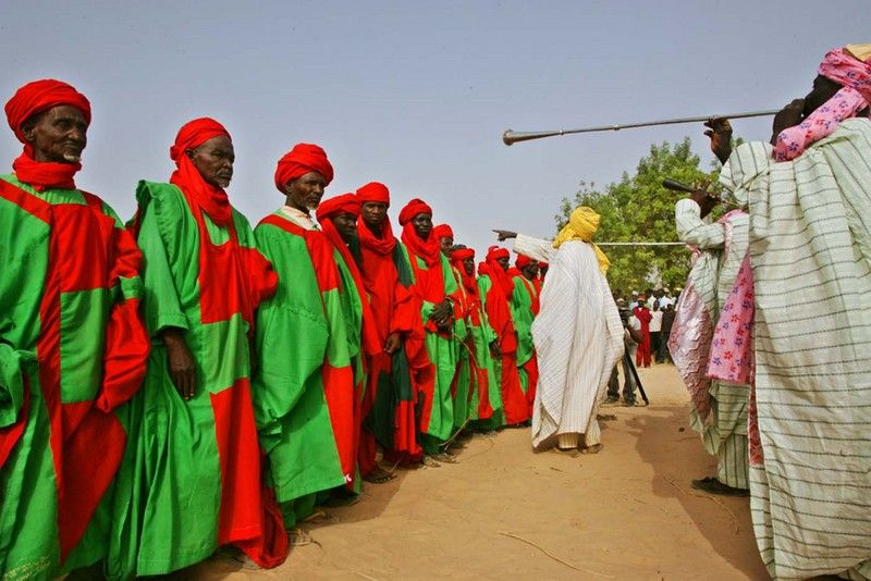 royal guards of Northen Nigeria Emirates Royal guard