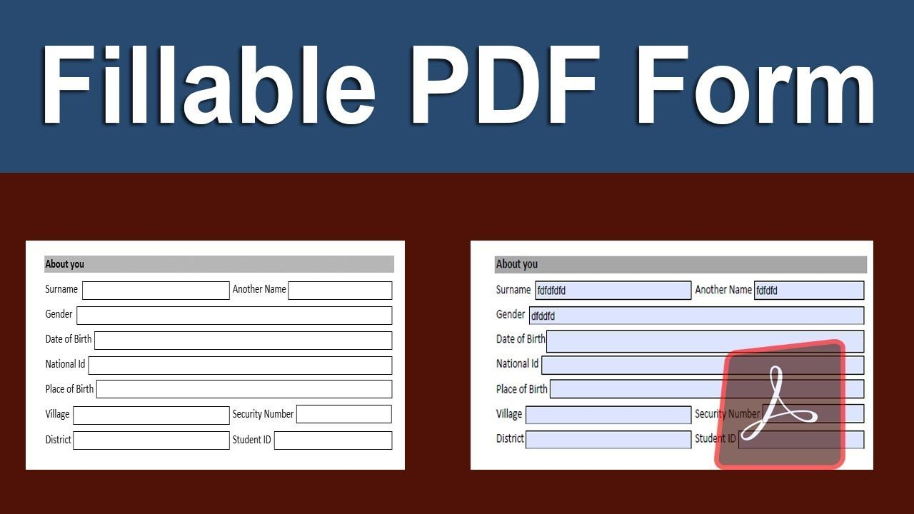 How To Convert Word To Fillable Pdf Form In Adobe Acrobat Pro Dc Adobe Acrobat Adobe Fillable Forms