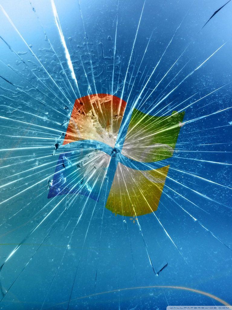 Realistic Cracked And Broken Screen Wallpapers Technosamrat