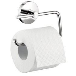 Hansgrohe H40526820 S E Paper Holder Bathroom Accessory