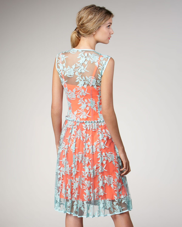 2 tone lace dress styles | Wedding dress | Pinterest | Lace, Lace ...