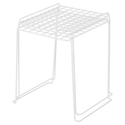 Iris 12 Locker Storage Wire Shelf, White