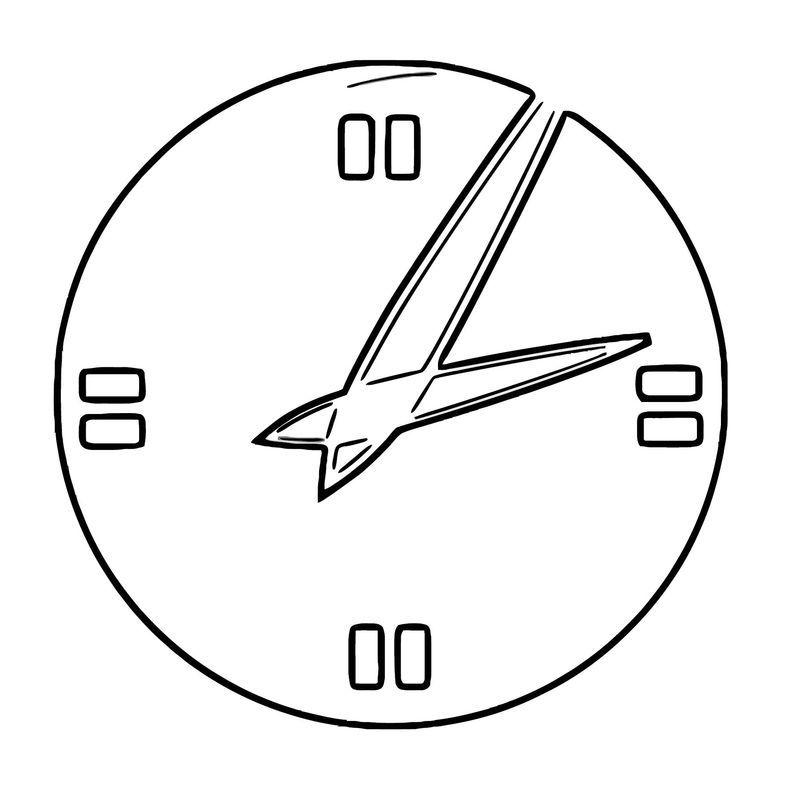 Digital Clock Clipart Anonymous Analog Clock Vector Clipa Free