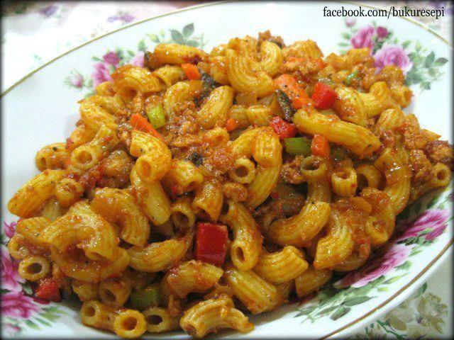 Macaroni Goreng..