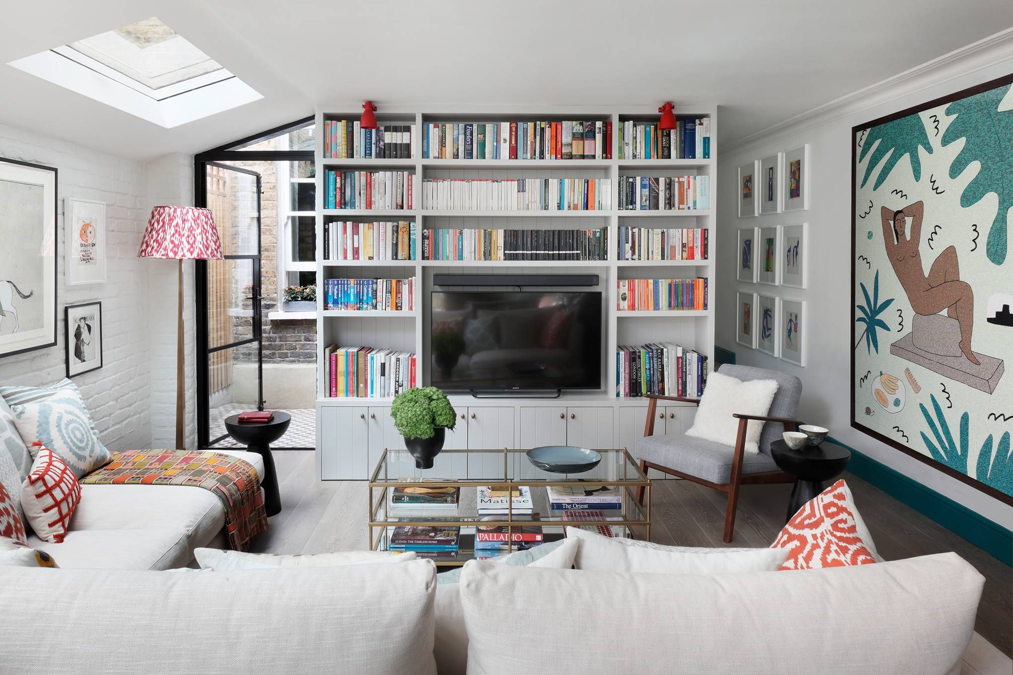 A young designer's artful renovation of the ground floor ...