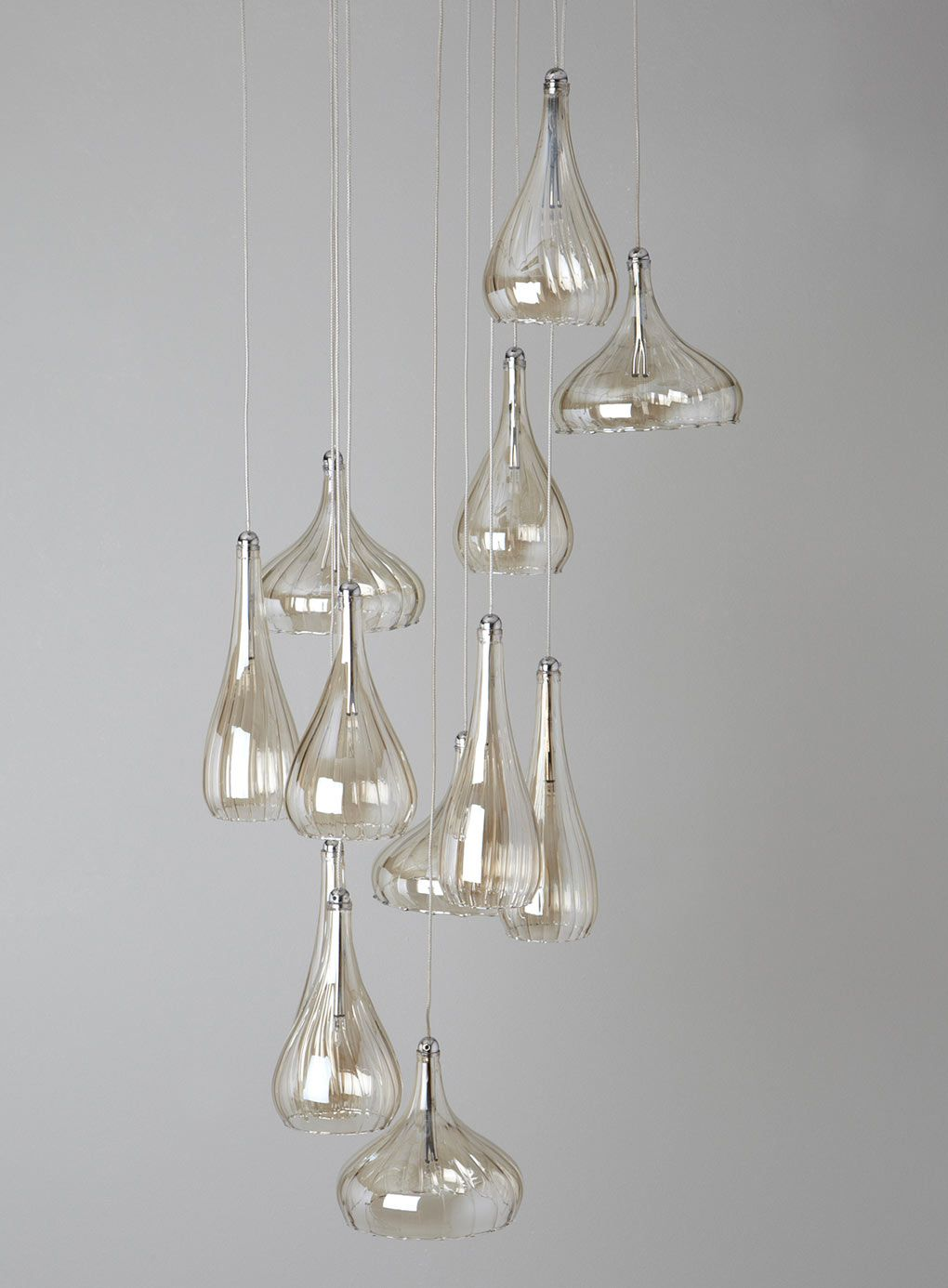 Carrara 12 Light Ceiling Pendant - clusters - ceiling lights - Home & Lighting - BHS Grayscale ...