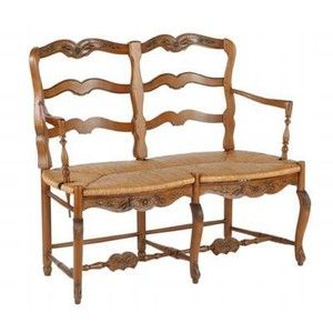 Gentil St. Remy Settee   French Country   Pierre Deux   Polyvore