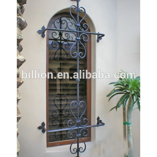 Wrought Iron Security Grills For Windows Design Buy Security