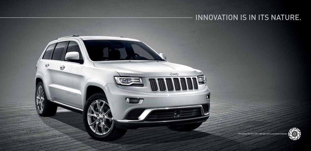 AR-Code New 2014 Jeep Grand Cherokee Augmented Reality Catalog.   AR ...