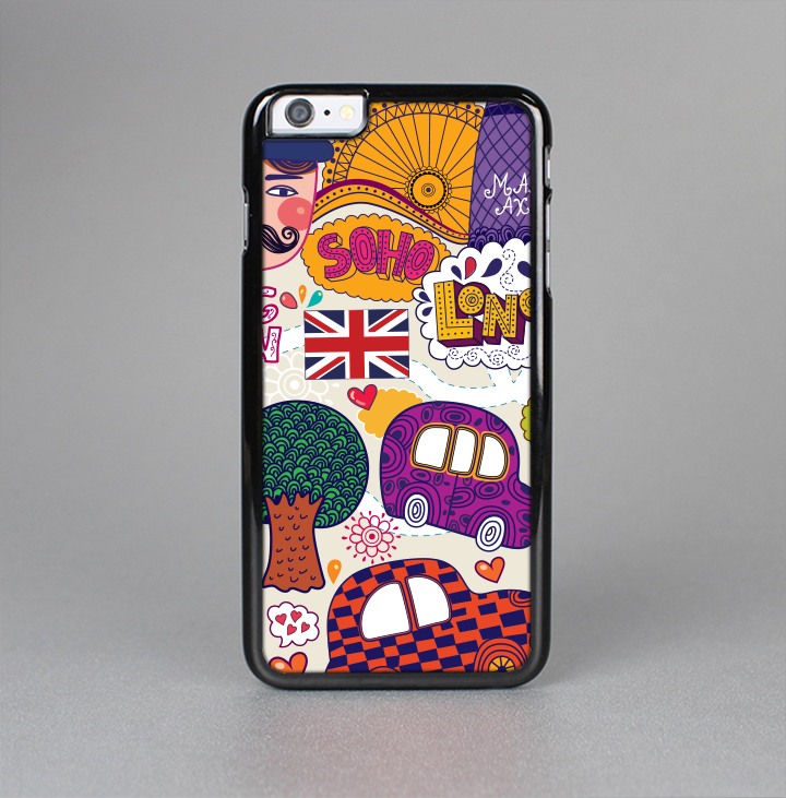 The Vector London England Sketchbook Skin-Sert for the Apple iPhone 6 Skin-Sert Case