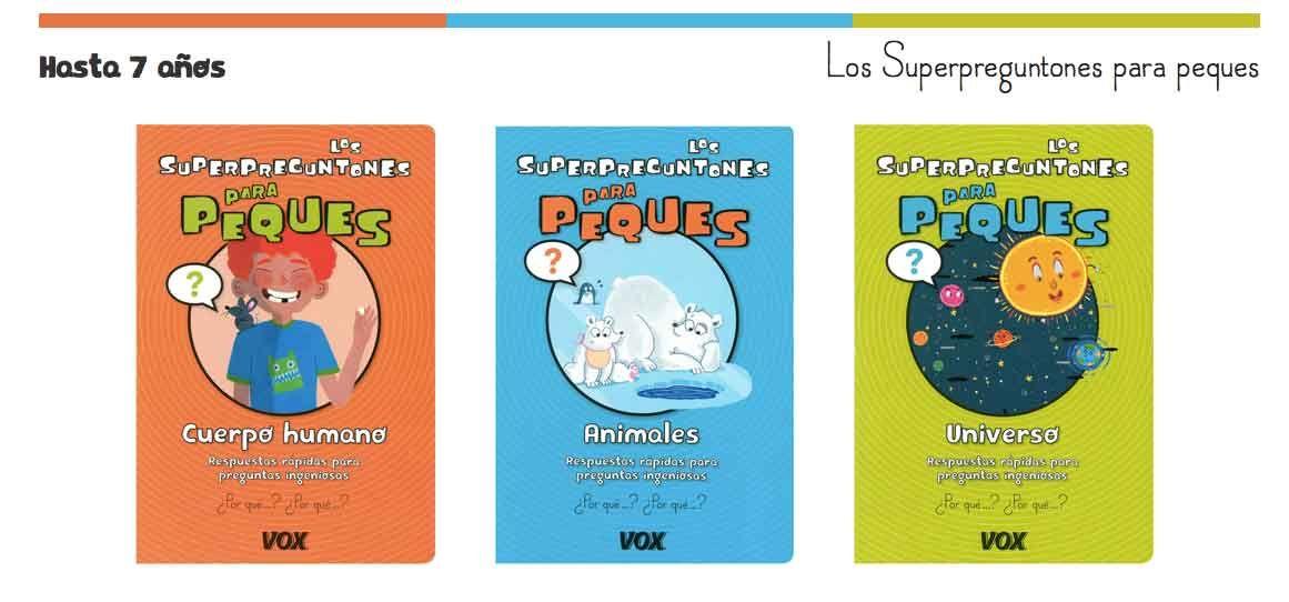 Los Superpreguntones para peques. Libros de aprendizaje y nuevos descubrimientos para las primeras preguntas y respuestas.