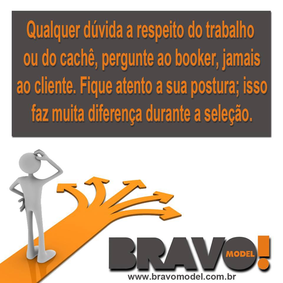 Fica a dica #BravoModel