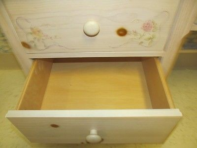 Thomasville Desk Impressions Ivory Hand Painted Floral