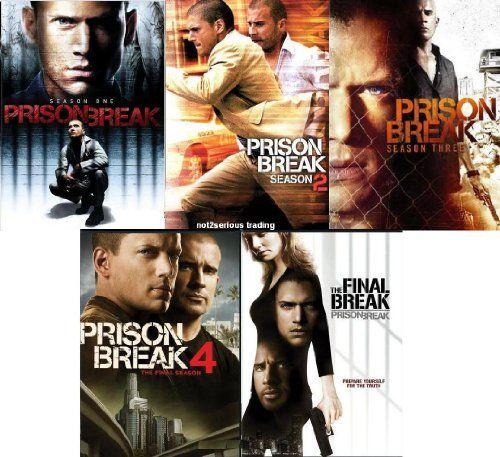 Prison Break: Seasons 1-4 + Prison Break: The Final Break Complete ...