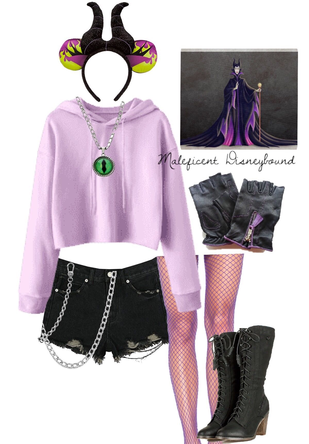 Some Casual Maleficent Disneybound Cosplay