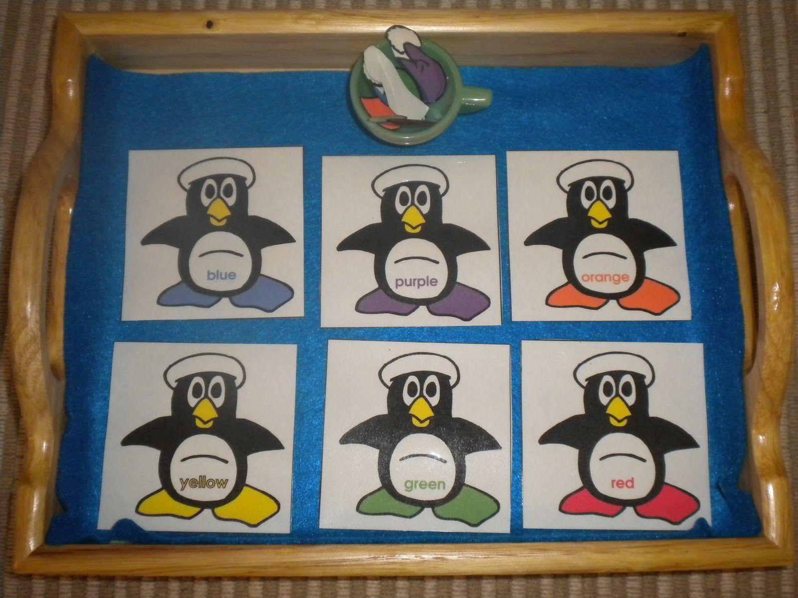 Winter And Penguin Activities