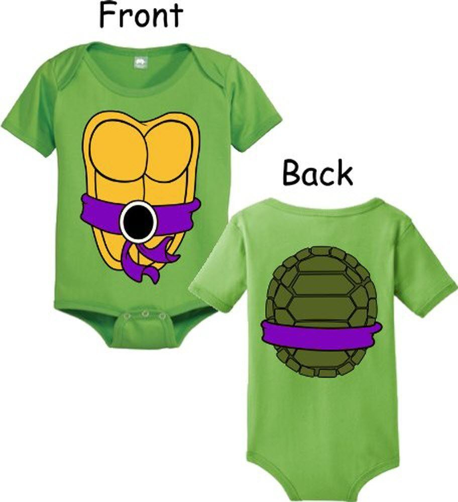 cee68c9a1 Teenage Mutant Ninja Turtles Green Donatello Costume Infant Baby ...