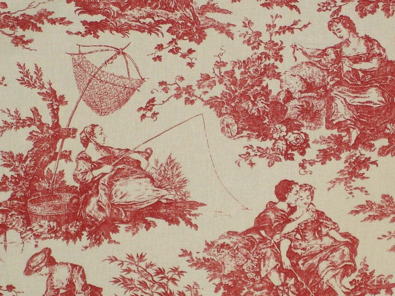 Fern Toile Fabric We Are Down To 6 2 3 Yards Description From