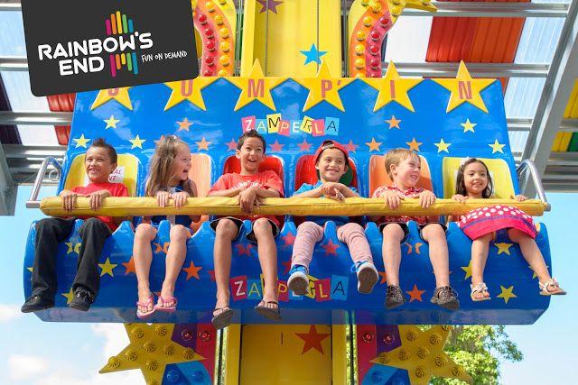 Kids Ride at #RainbowsEnd #NZ #ThemePark #Zamperla