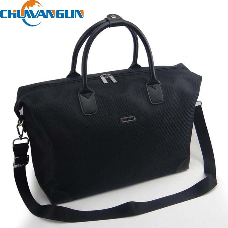1ef3cfaf39f6 Chuwanglin Waterproof Bag Women Duffel Travel Tote Oxford Jacquard Travel  Bag Weekend Bag Large Capacity Overnight Bag ZDD8266-in Travel Bags from  Luggage ...