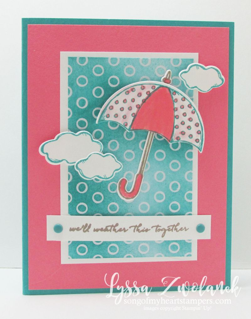 Weather It Together With These Sweet Diy Umbrella Cards Umbrella Cards Cards Get Well Cards