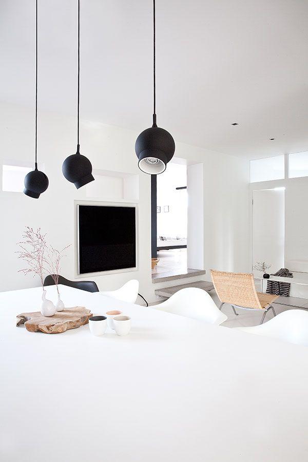 Inspiration - Interior design - Dinning room - Light