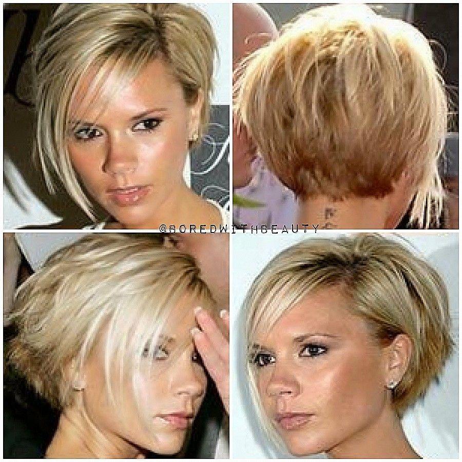 Modified bob hairstyles new asymmetrical haircut back view image