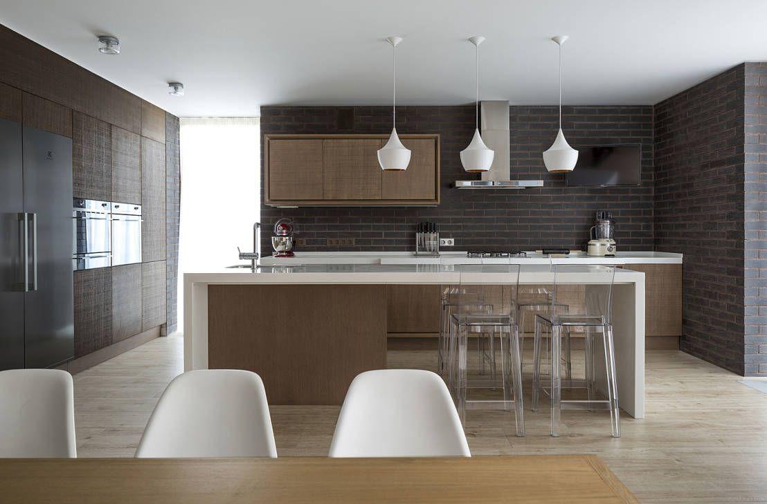 A casa do bosque   Cocinas integradas, Yo elijo y El comedor