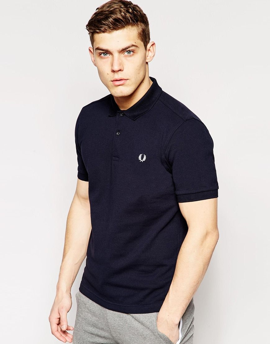 89cc257ccf637 Fred Perry Slim Fit Plain Polo   Apparel   Polo, Fred Perry, Mens ...