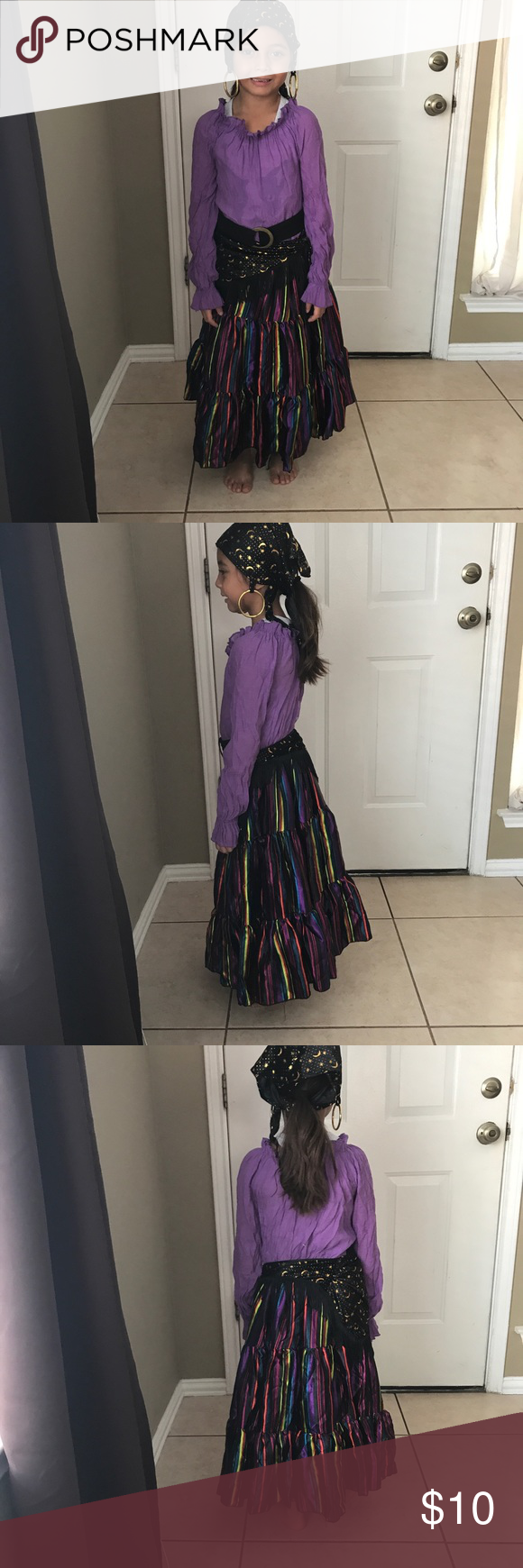 Fortune teller costume (girls) Used condition  My daughter