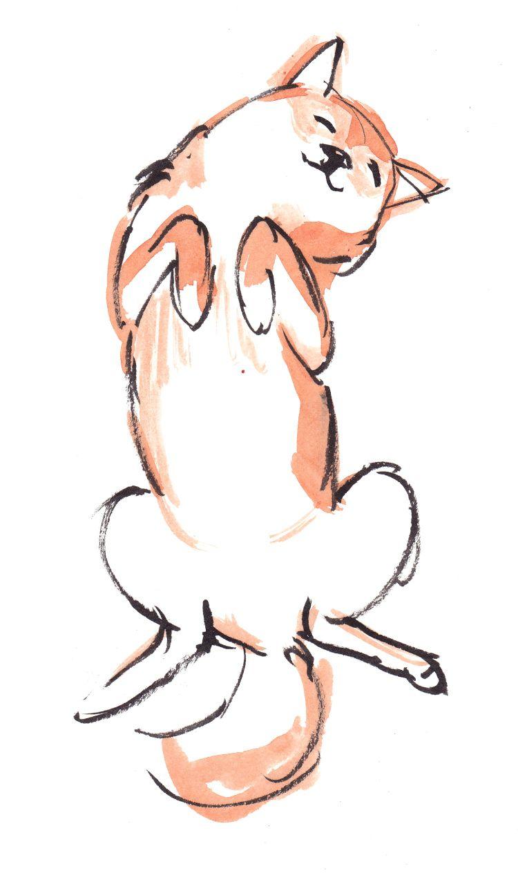 Shiba Painting 4 Cute Dog Drawing Animal Drawings Dog Sketch