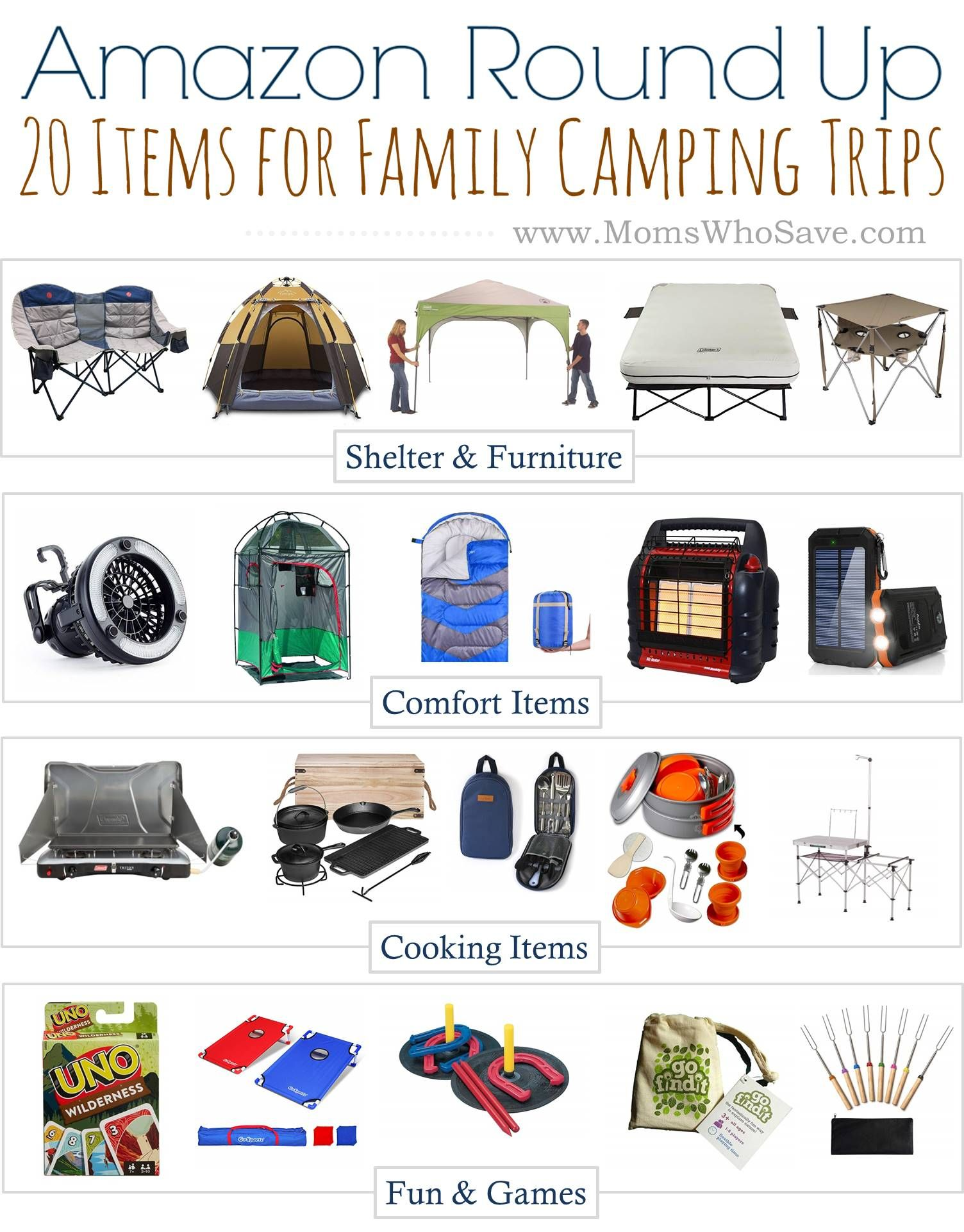 Photo of Family Camping Trip Checklist — 20 Items You Need | MomsWhoSave.com
