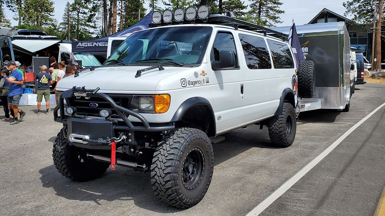 4x4 Ford E 350 Turbodiesel Adventure Van Conversion With 8 Lift