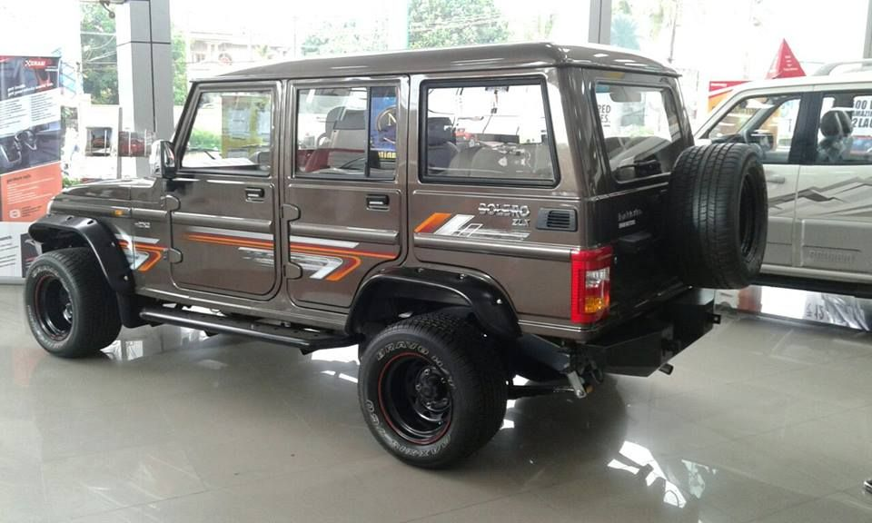 Modified Mahindra Bolero Spied At A Dealership Bolero Mahindra