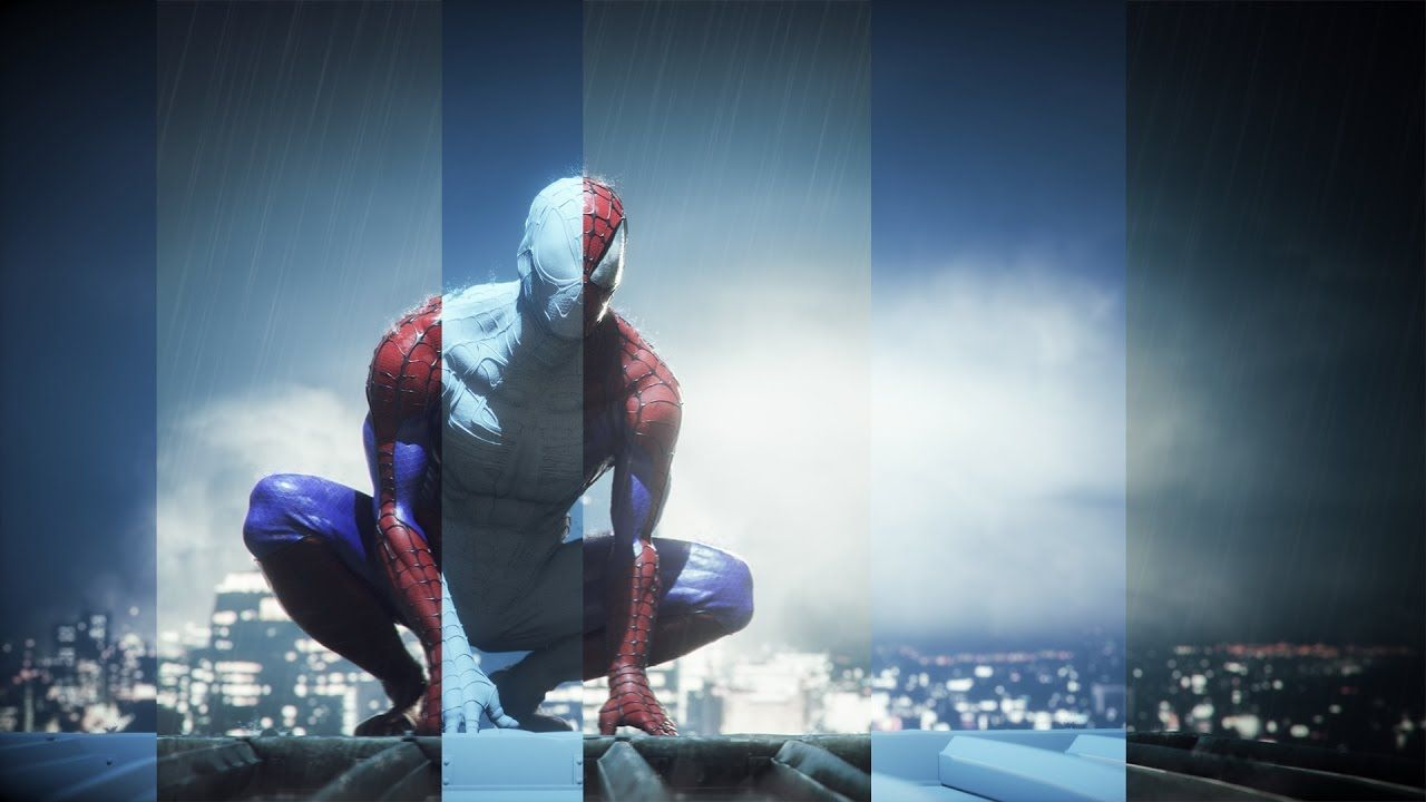 Cgi 3d Making Of Hd Spiderman Lighting Phase Spiderman Character Inspiration 3d Artist