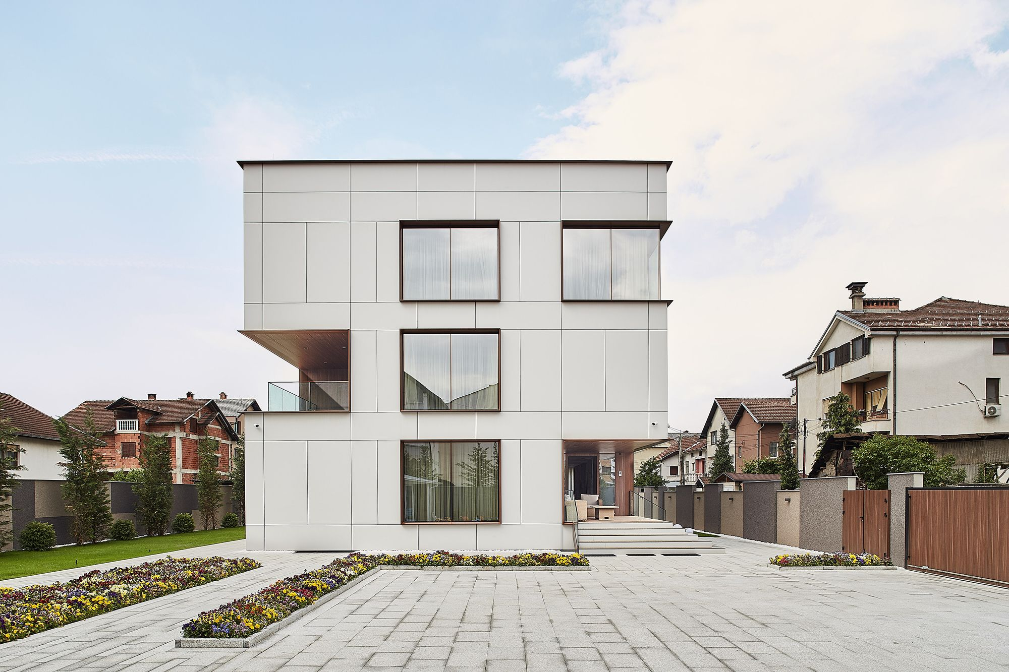 SD Residence BMA Besian Mehmeti Architects