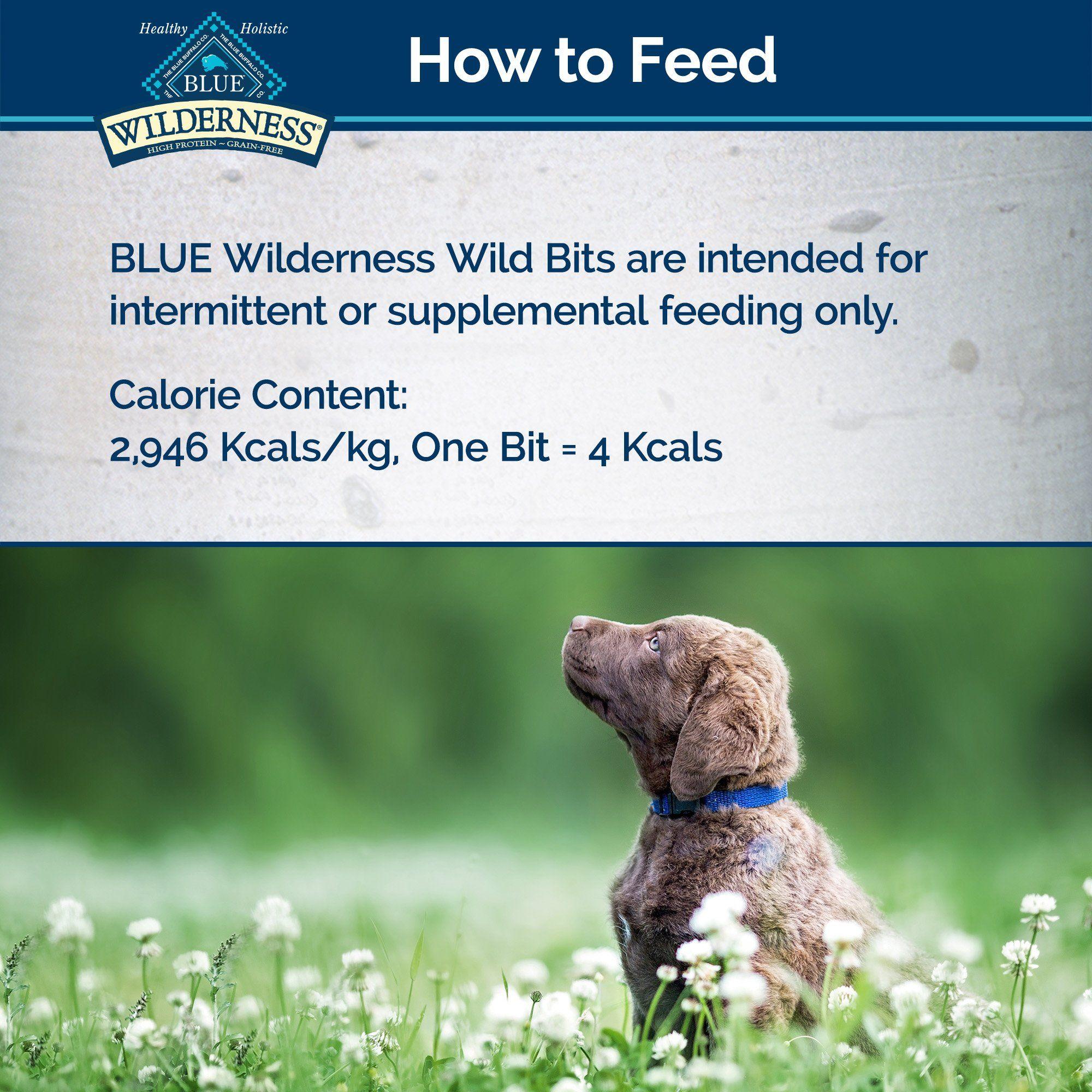Blue Buffalo Blue Wilderness Trail Treats Duck Wild Bits Dog
