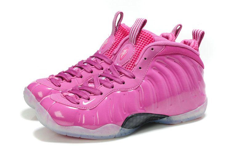 cheap for discount 2acc7 0c168 Women foamposites 2012 Nike Air Foamposite One Womens Hot Pink Black